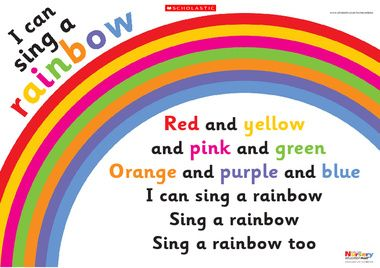 Click To Download With Images Rainbow Songs Preschool Circle