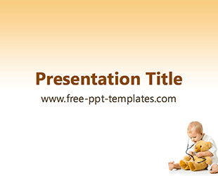 pediatrics ppt template free powerpoint templates medical