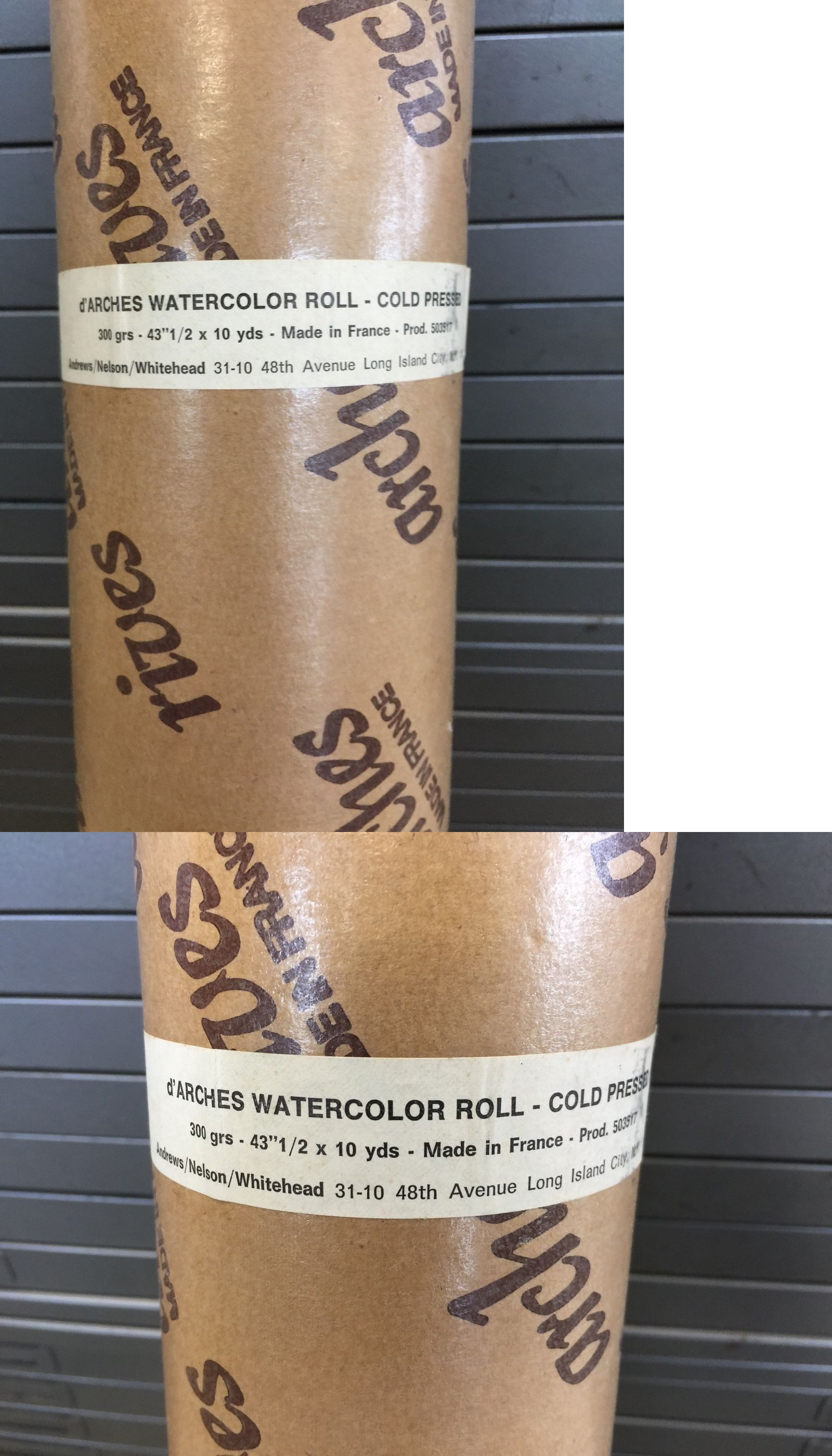 Art Paper 57208 D Arches Watercolor Roll Cold Press 300grs