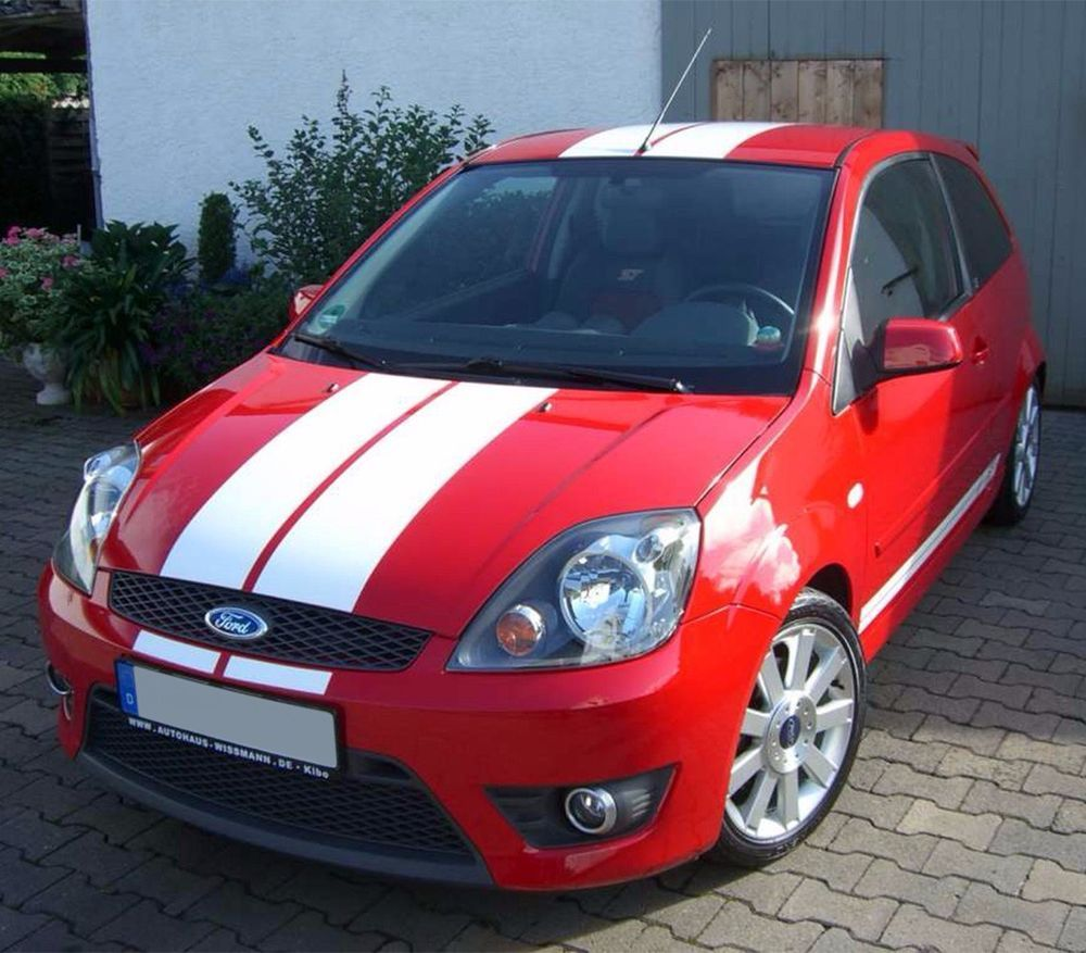 Stripe Kit Sticker Decal Vinyl For Ford Fiesta St Rs 2002 2008
