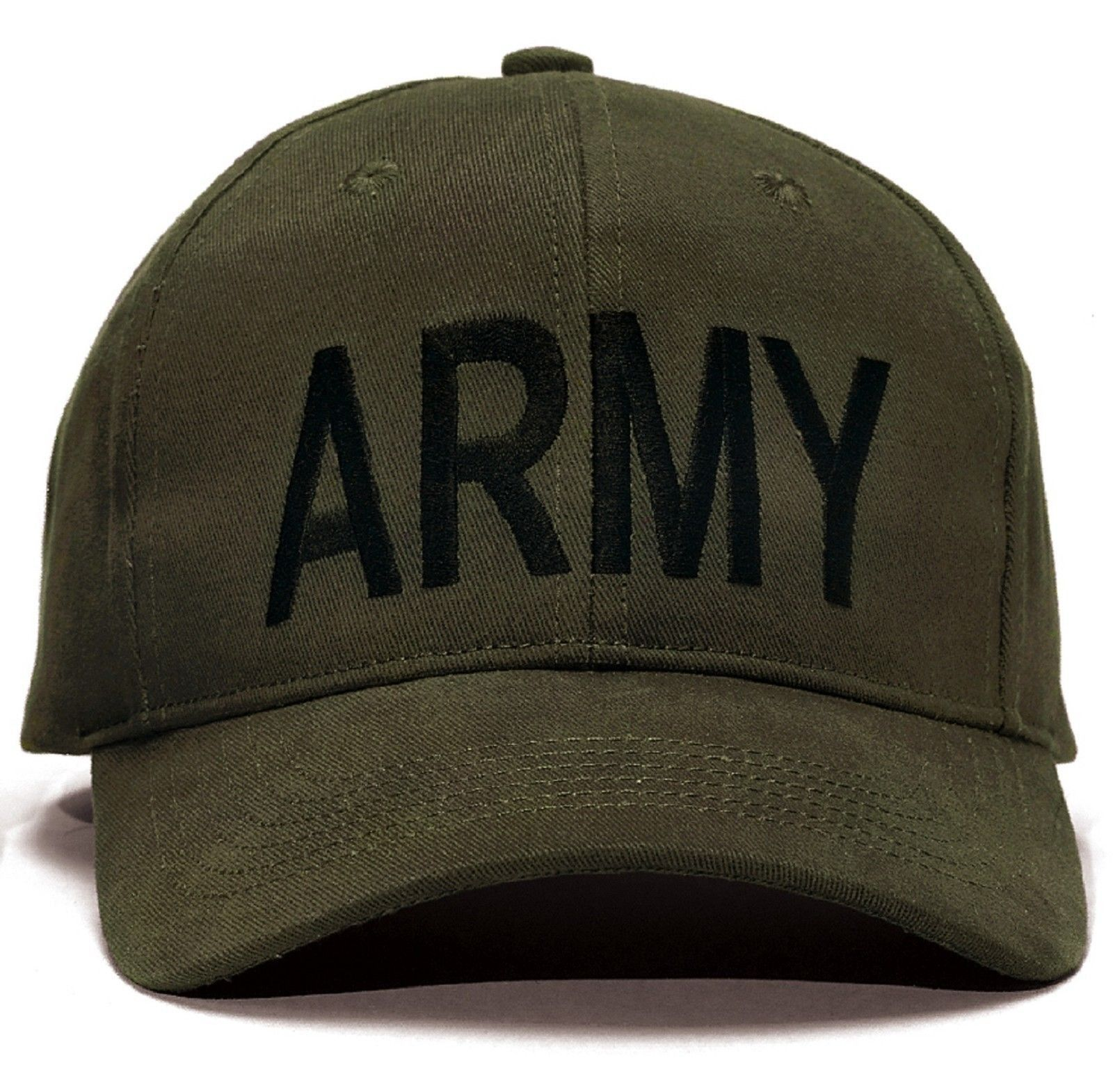 62c66ec9d9bfb ARMY Baseball Caps - Black