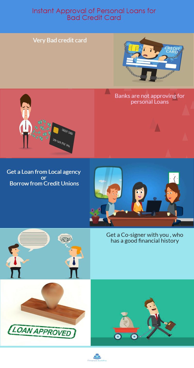 Bad Credit Personal Loan With Cosigner >> Instant Approval Online Loans For People With Bad Credit