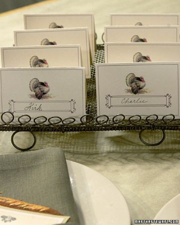 Thanksgiving Clip-Art Place Cards                         Email            Save      Print                                     0612            Email            Save      Print