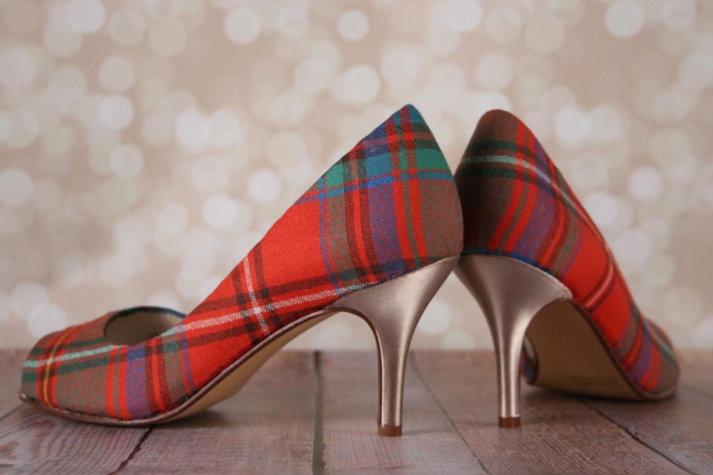 CUSTOM CONSULTATION: Design Your Own Wedding Shoes, Tartan Wedding Shoes,  Custom Wedding Shoes Nice Design