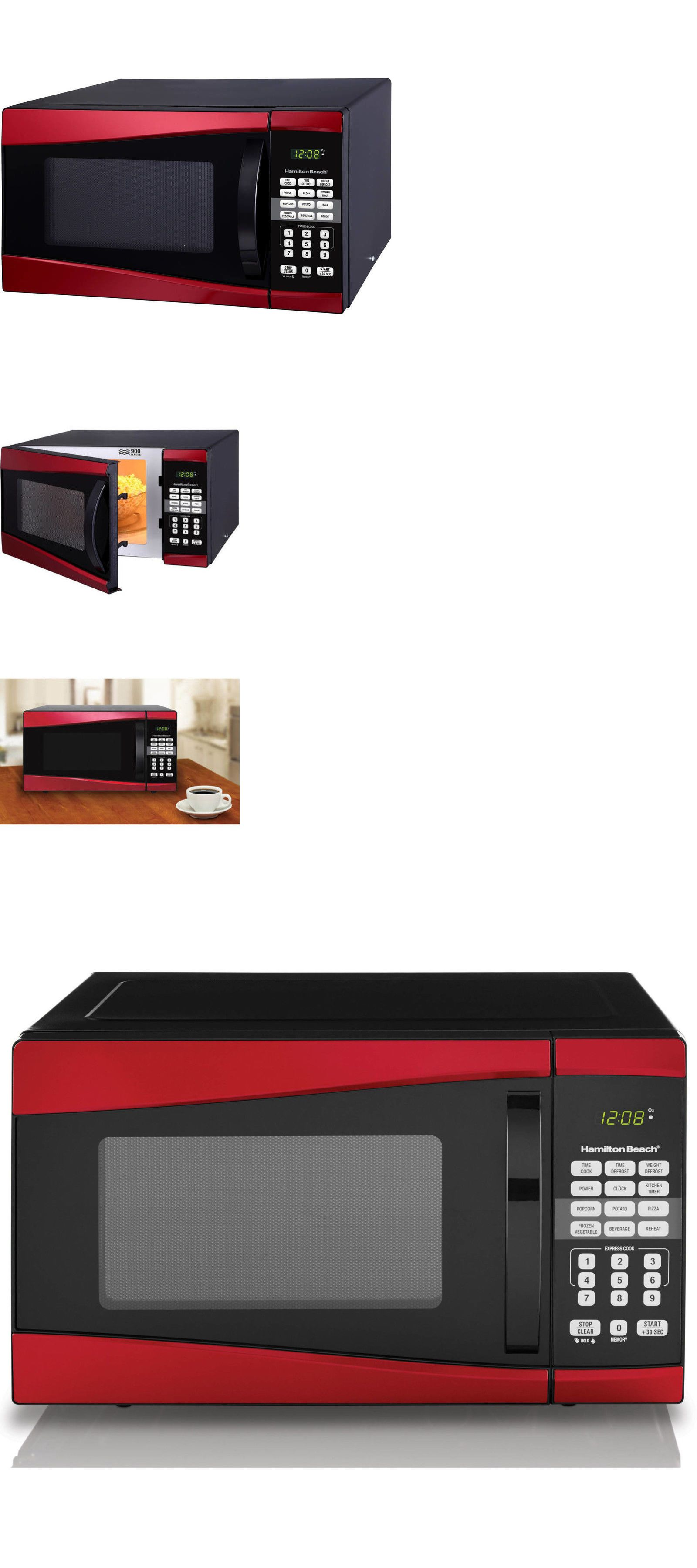 Microwave Ovens 150140 Low Profile Rv Mini Small Best Compact