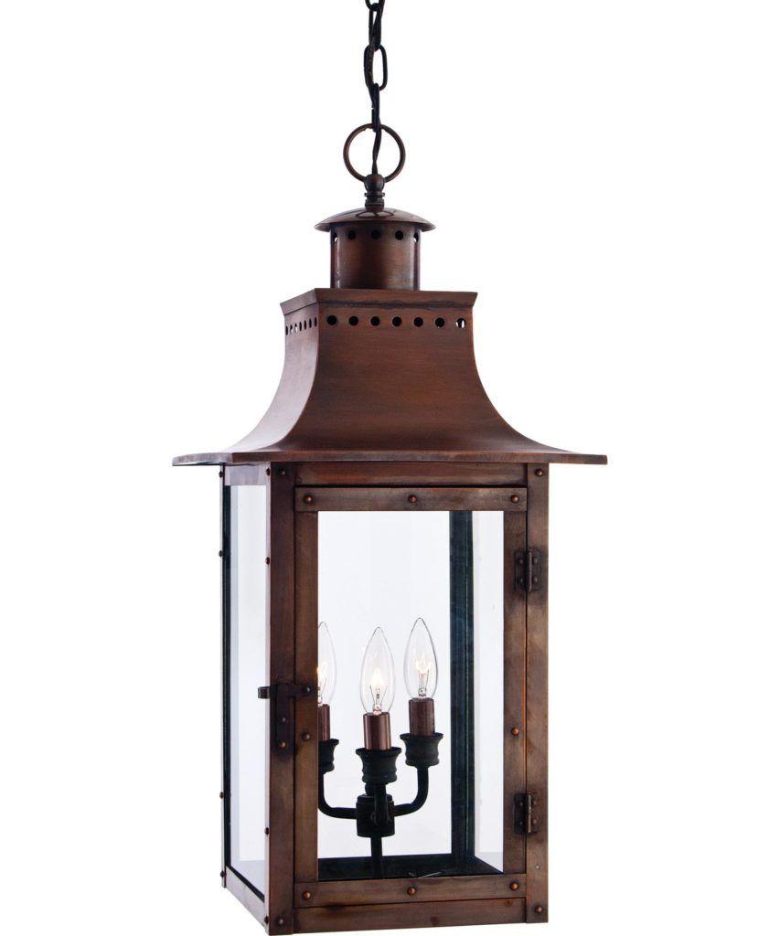Outdoor Lighting Cute Hanging Lantern Light Fixture: Quoizel Cm ...