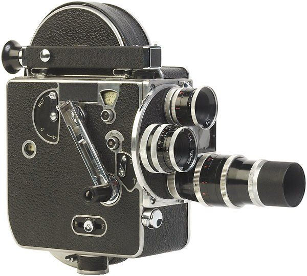Antique Movie Camera With Images