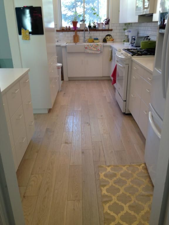 This Brooklyn, NY customer picked Seabrook Island Oak for a kitchen ...