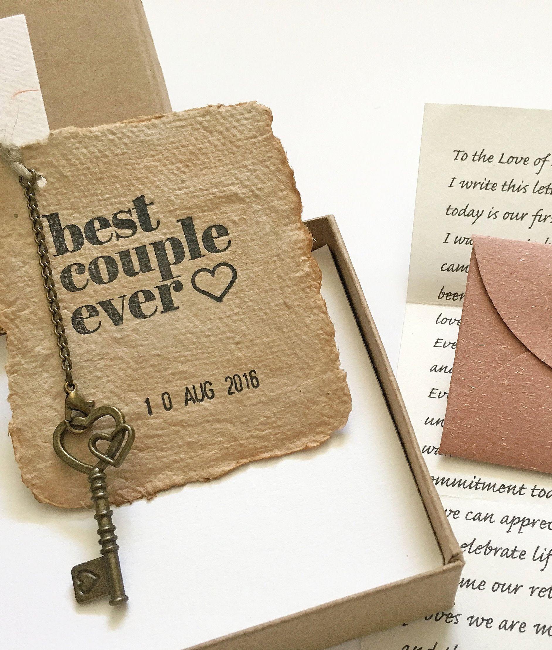 Sustainable Paper Anniversary Gift Personalized Love Letter Etsy Paper Gifts Anniversary Paper Anniversary One Year Anniversary Gifts