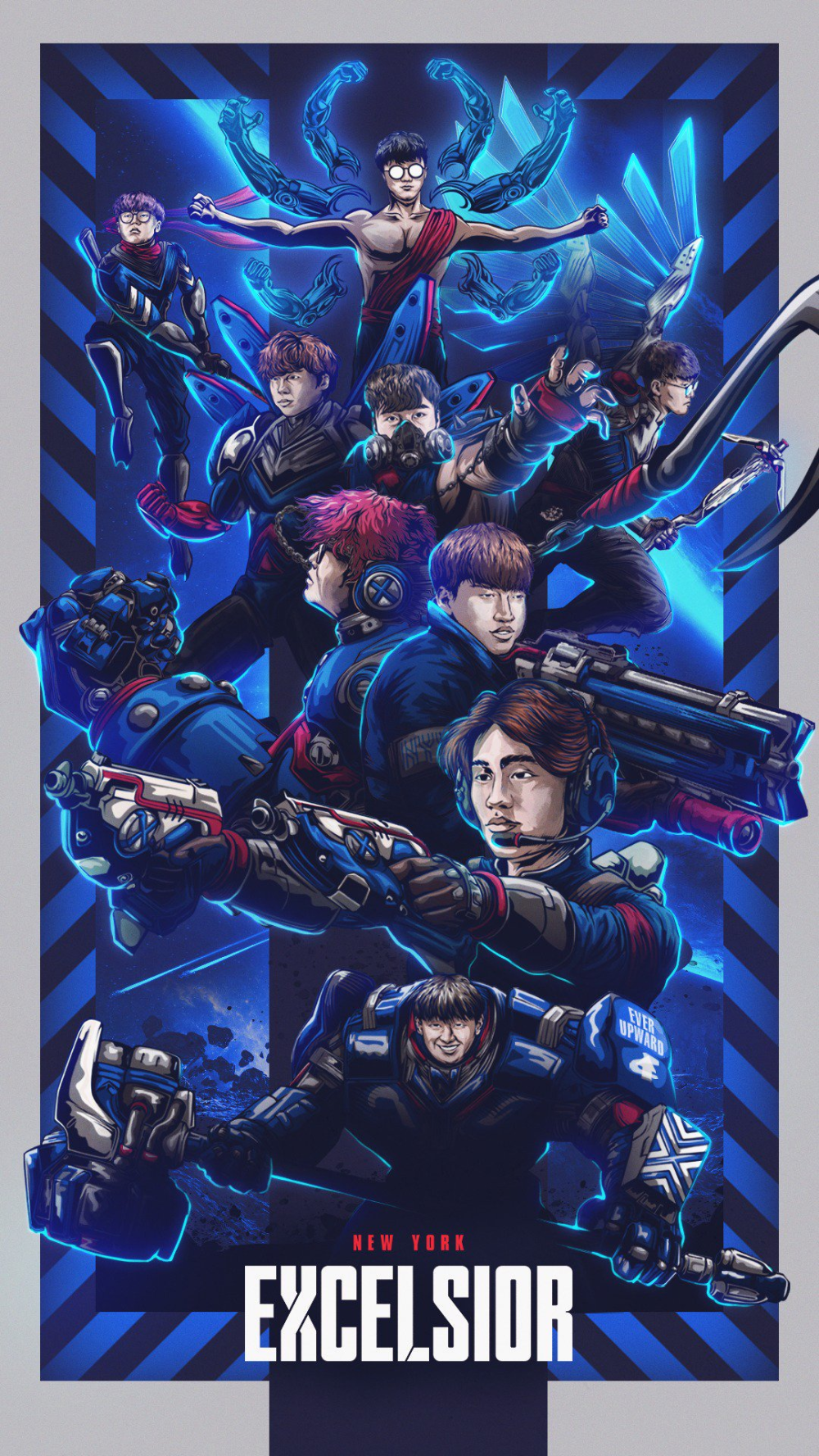 Nyxl On Twitter Overwatch Wallpapers Super Hero Day New York Art