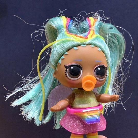 LOL Surprise Dolls Hairgoals Makeover Series 5 WAVE 2 RAINBOW RAVER XMAS GIFT