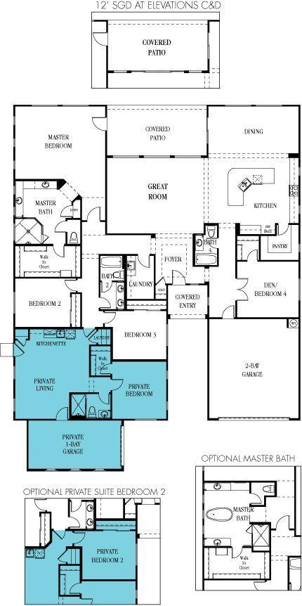 Lennar multigenerational homes floor plans Great pin For Oahu