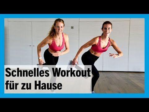 Ganzkörper-Workout: Fit in 10 Minuten mit der P.A.U.L.-Methode - FIT FOR FUN #fitnessvideos