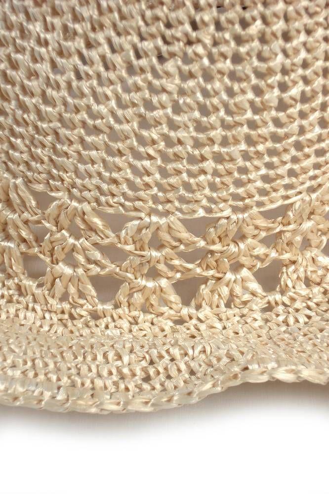 Sombrero Tejido Crochet - - Sombreros - Almacen de Belleza ...