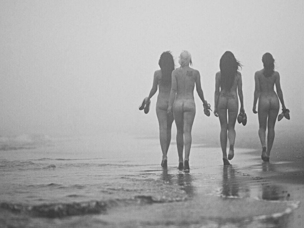 Lesbian Skinny Dipping 59