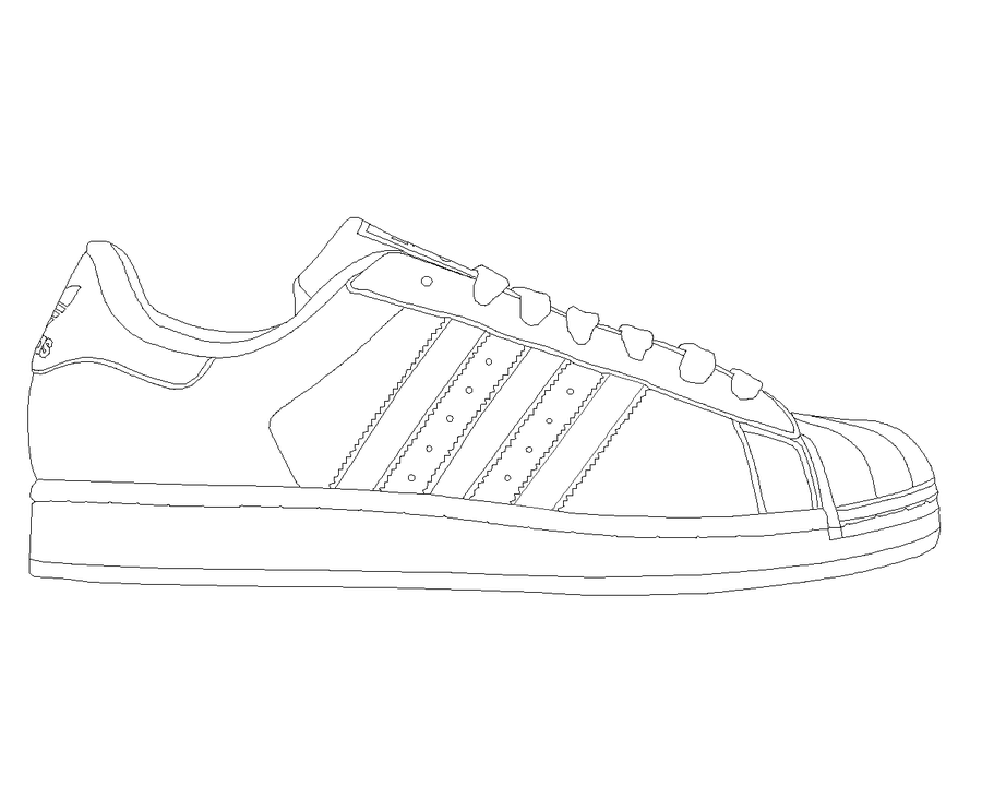 Adidas Superstar template