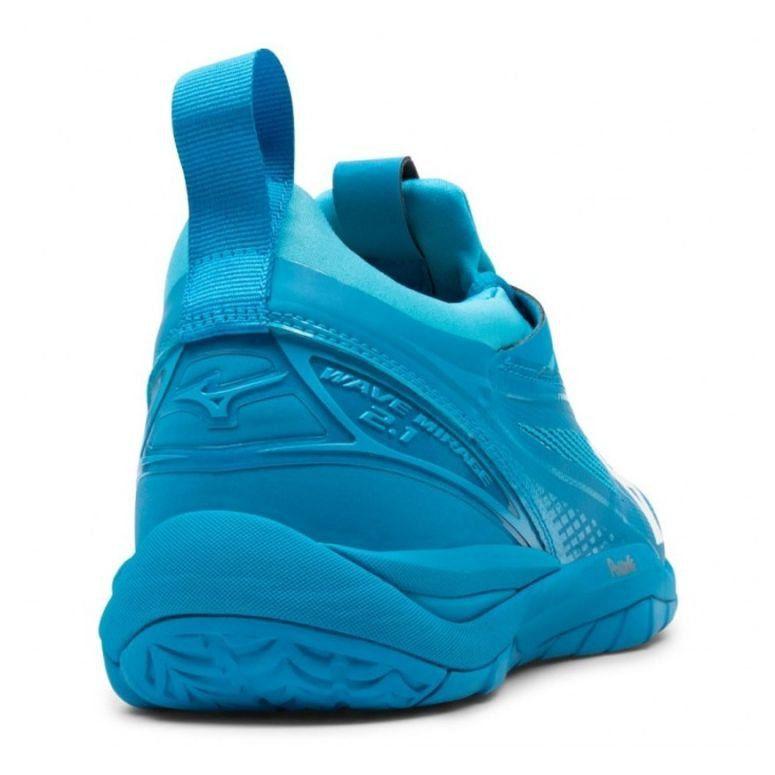 Buty Do Pilki Recznej Mizuno Wave Mirage 2 1 M X1ga185098 Niebieskie Niebieskie Mizuno Volleyball Mizuno Puma Sneaker