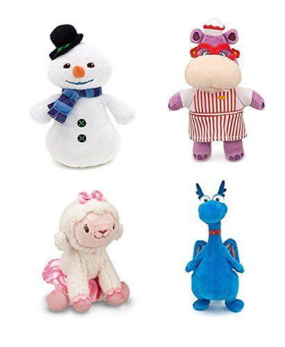 Disney Junior Jr Doc McStuffins CHILLY Snowman Bean Bag