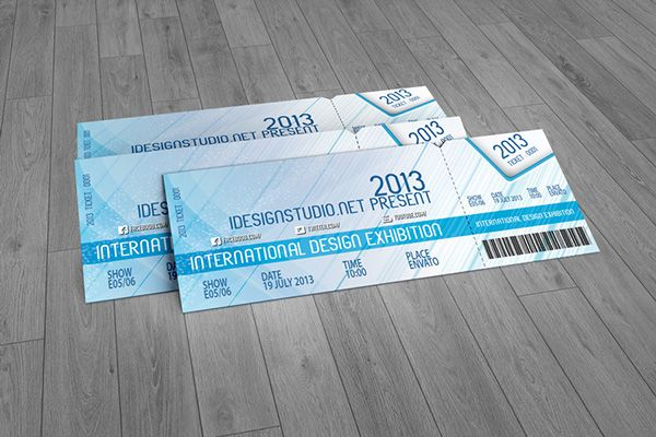 Pin by Anthony Hale on Ticket Design Pinterest