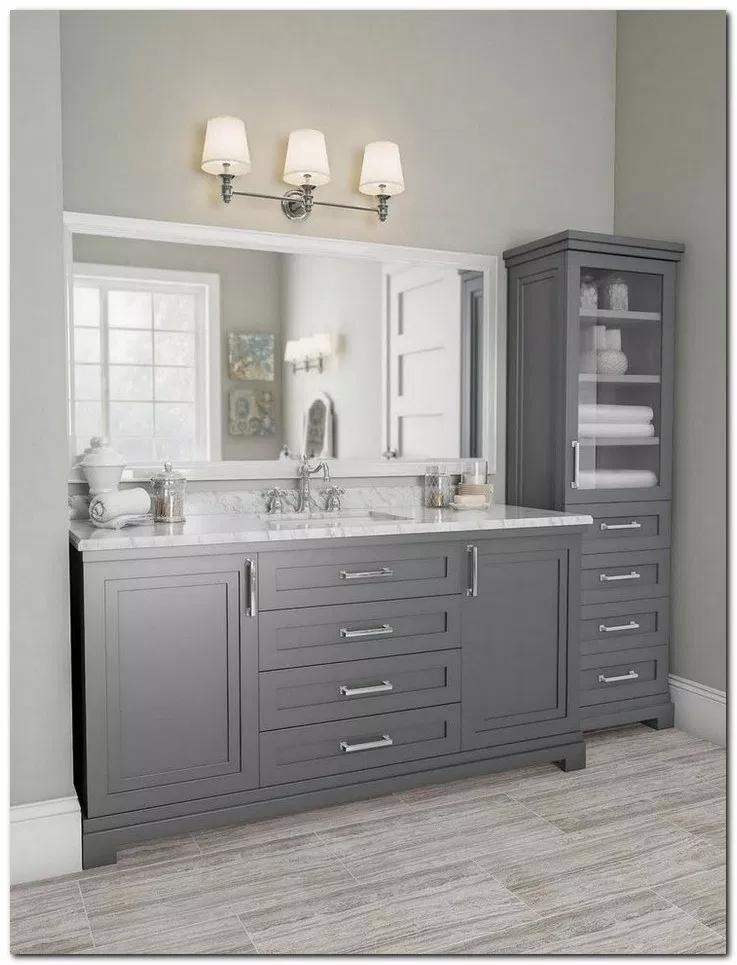 28 Cozy Farmhouse Master Bathroom Remodel Ideas Bathroomideas Bathroomremodel Bathroomdecor Hom Bathrooms Remodel Classic Grey Bathrooms Bathroom Interior