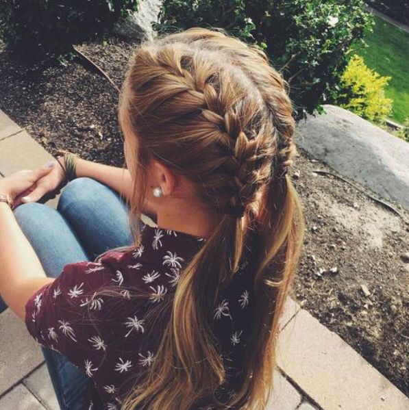 I Ve Never Thought Of That Before Hair In 2018 Pinterest Hair