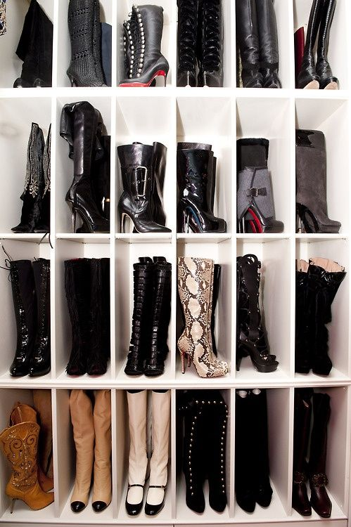 Even if you don't have a walk-in closet, there's a strong possibility you can make room for one.