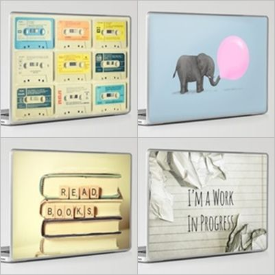 Just some awesome laptop skins i've found (and need!)   find them here:  http://society6.com/laptop-skins?page=1 ;)