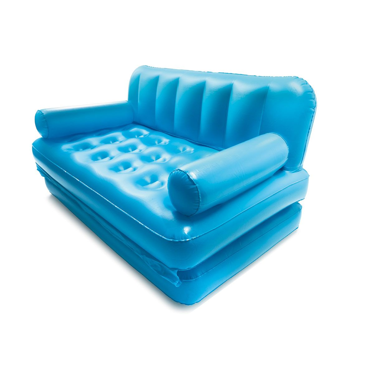 Multi Function Couch Double Bed Blue Kmart Inflatable Sofa