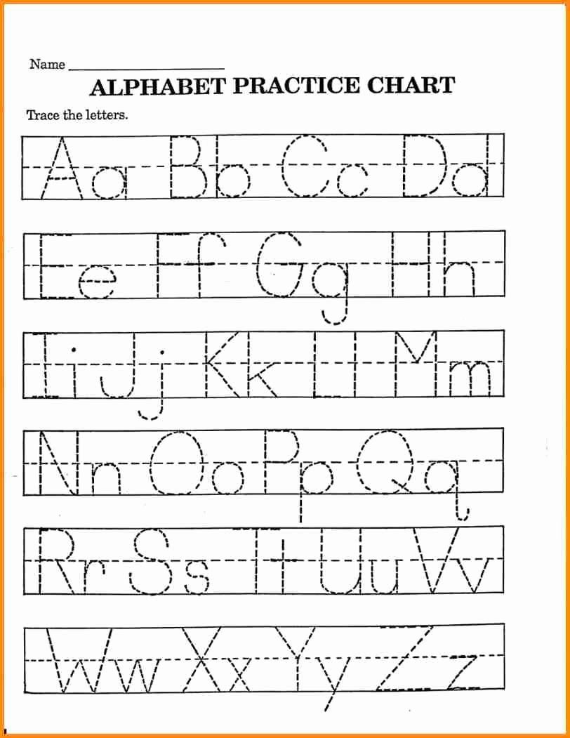 Alphabet Coloring Chart Printable Beautiful 7 Pre K Worksheets Printable Med Alphabet Worksheets Free Printable Alphabet Worksheets Alphabet Tracing Worksheets