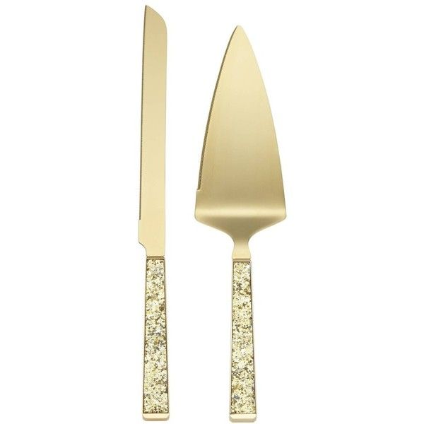 Kate Spade New York Simply Sparkling 2-Piece Cake Serving Set ($65 ...