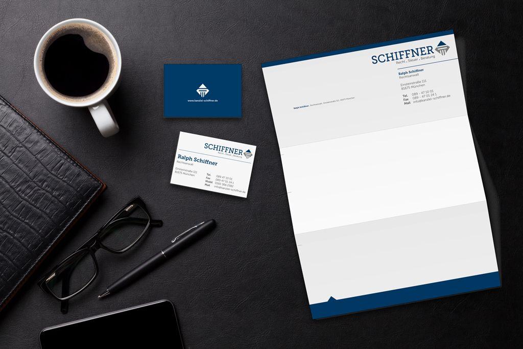 Logo Entwicklung Und Gestaltung Der Geschäftsausstattung