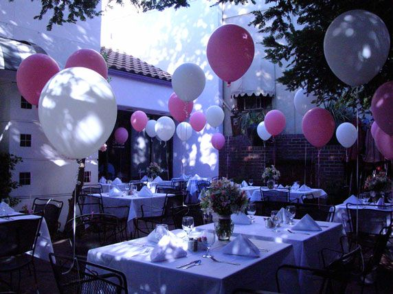 Women birthday party decorations 50th birthday party for Adult birthday decoration