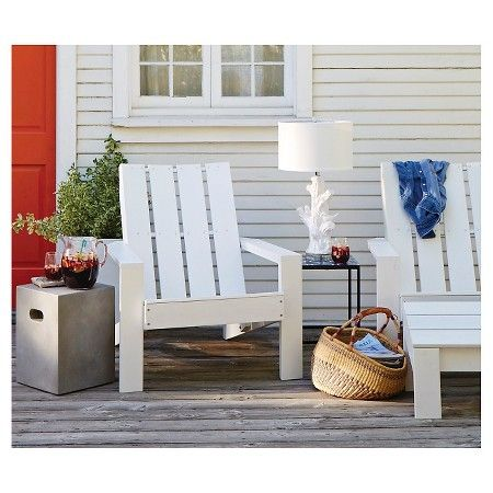 Bryant Faux Wood Patio Adirondack Chair Threshold Target With Images Adirondack Chairs Patio Wood Patio Adirondack Chair