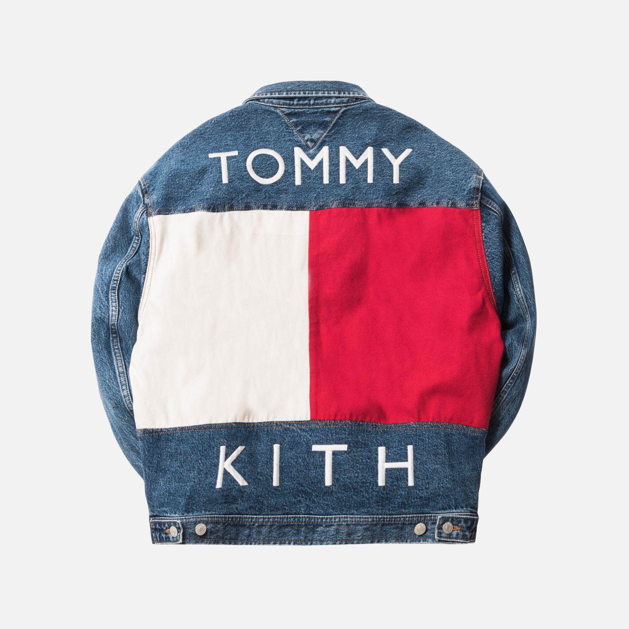 Kith x Tommy Hilfiger Denim Trucker Jacket Vintage Blue