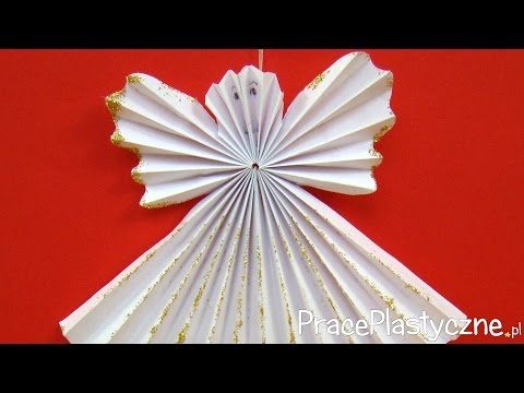 Come fare angioletti di natale angeli di carta per natale decorazioni natalizie youtube - Decorazioni natalizie carta ...