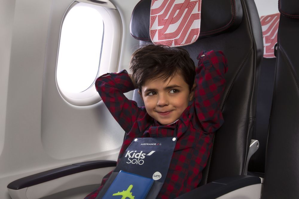Air France: Summer Travel Fun for Kids