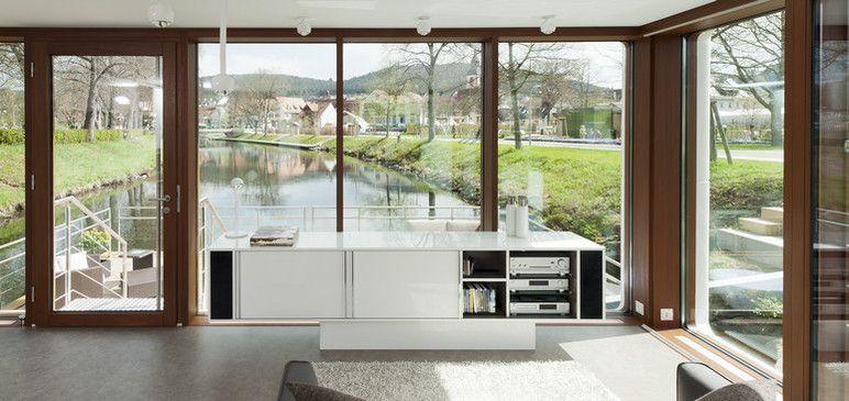 Das Sideboard - modern und fast schwebend. | TV Möbel, Hifi ...