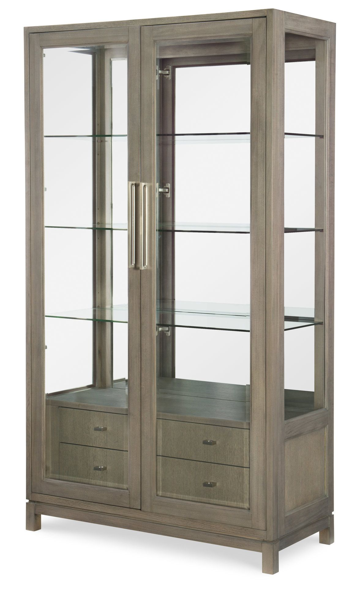 Highline By Rachael Ray Home Lighted China Cabinet Display Cabinet Furniture China Cabinet
