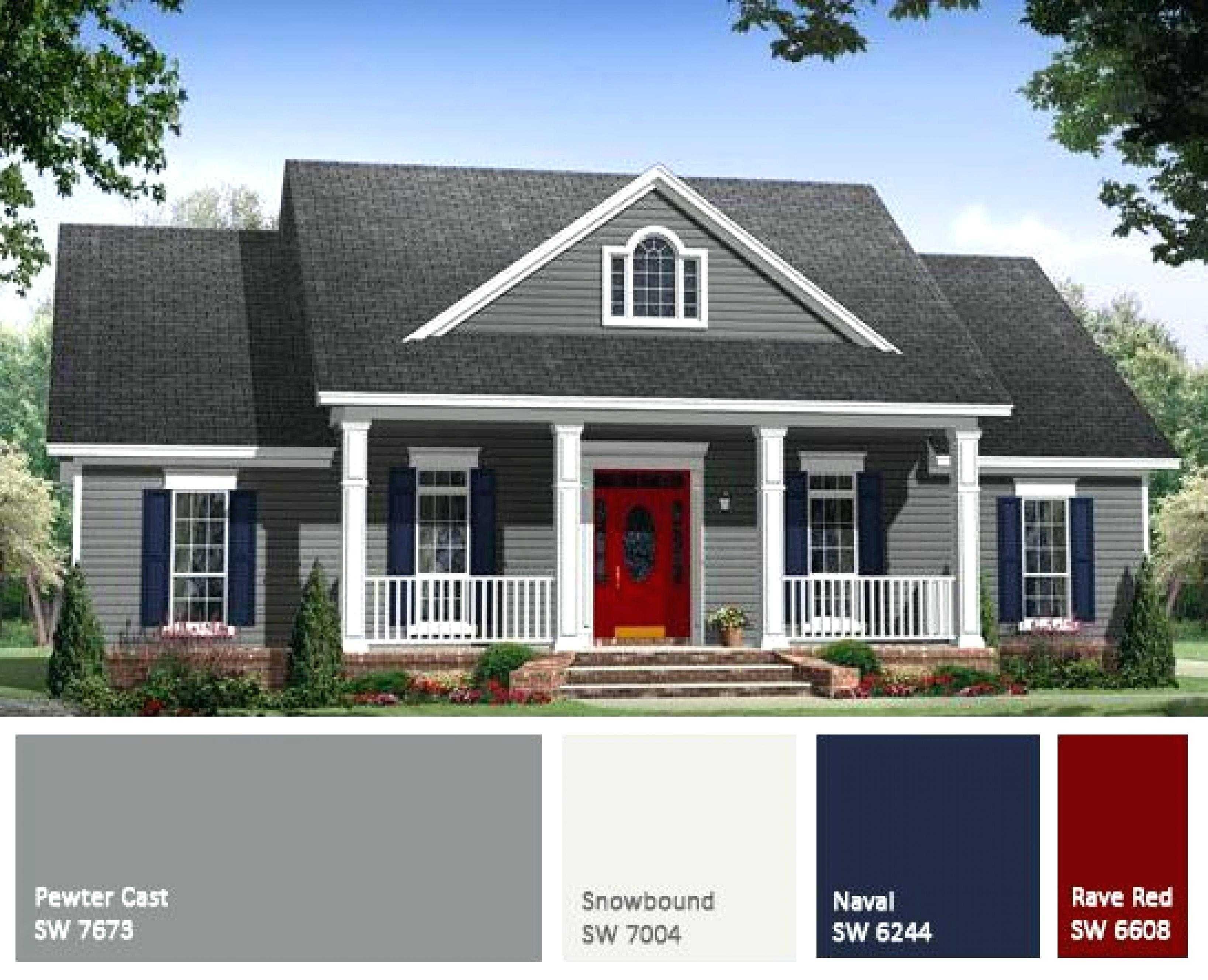 Exterior Paint Colors 2018 Pictures House Color Combinations