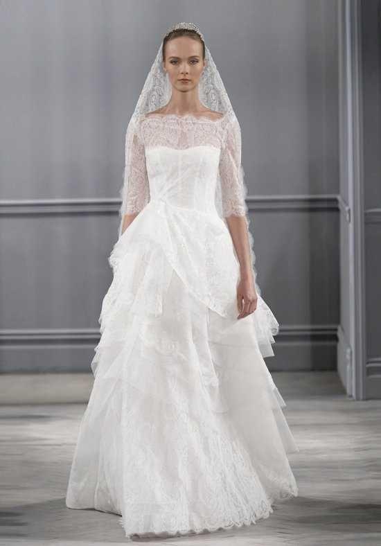 Monique Lhuillier Monaco Wedding Dress Photo