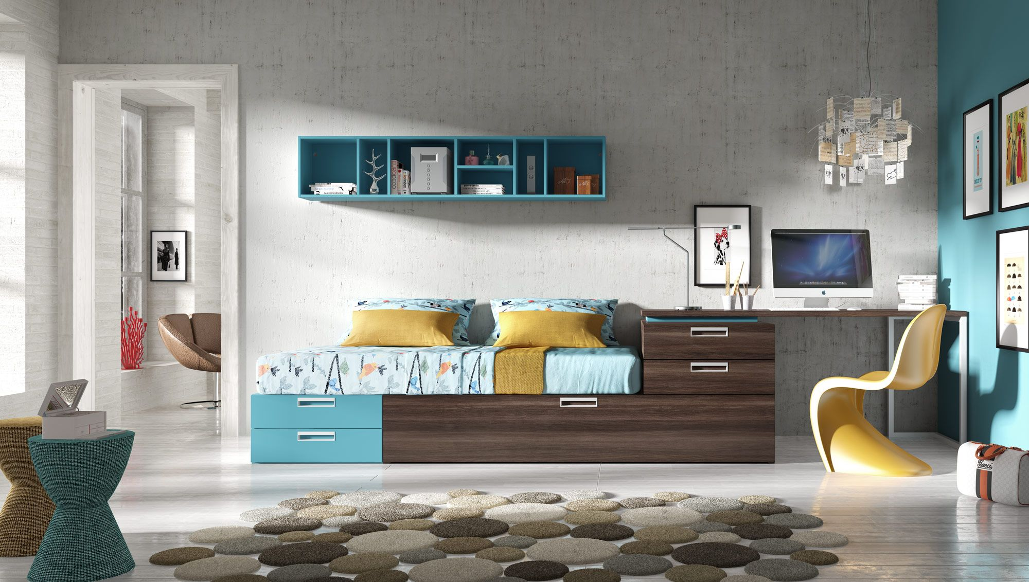 Tribu snap l36 muebles hermida world of decor pinterest camas bajas composici n y juveniles - Hermida muebles ...