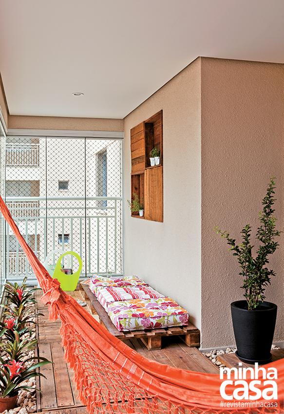 Rede na Varanda.   Balkon da olsun :)   Pinterest   Outdoor living ...
