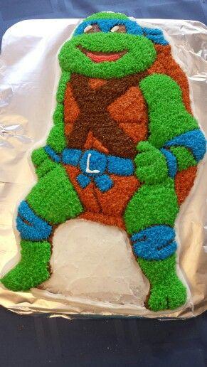 Groovy Ninja Turtle Cake Wilson Pan With Images Ninja Turtle Cake Personalised Birthday Cards Petedlily Jamesorg