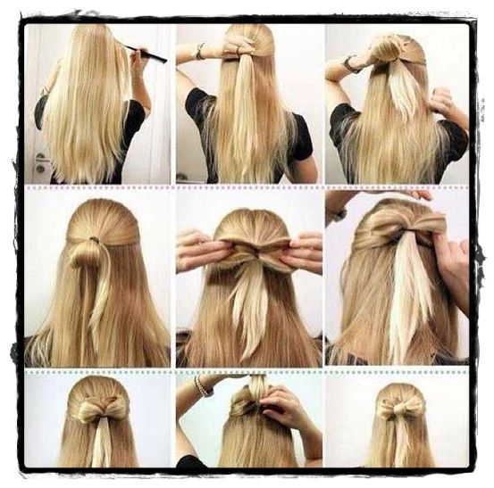Cute Easy Hairstyles For School 3 cute easy ponytail hairstyles for school college work quick easy hairstyles with ponytails youtube Best Simple Hairstyle For School 2015jpg