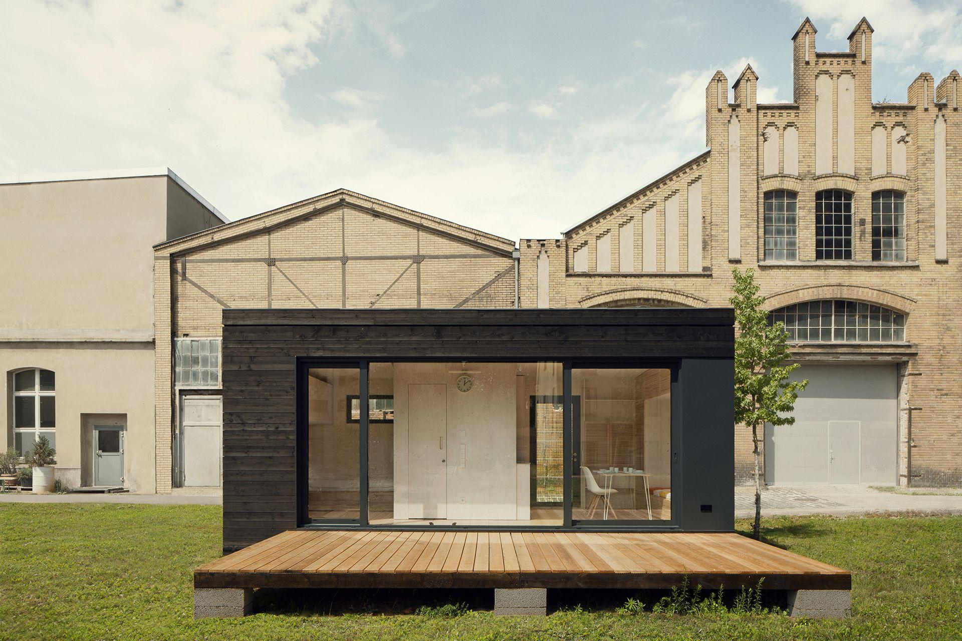 kleines Haus 19 Quadratmeter / Futteralhaus | Living at Container ...