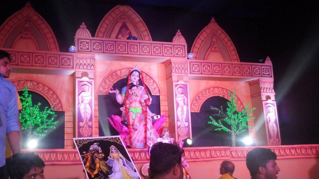 Gonash Puja Pandals 2019 Decor By Ancon Event Event Saraswati
