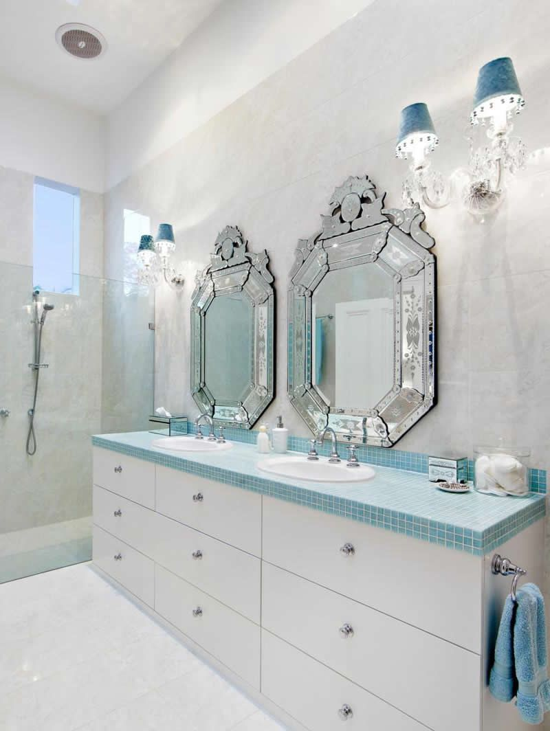pale blue grey bathroom | A HOME for ME | Pinterest | Blue gray ...