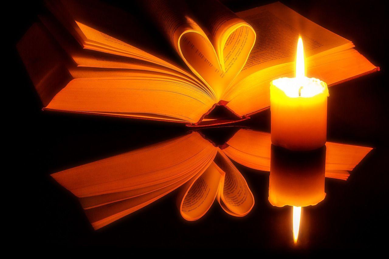 Kostenloses Bild auf Pixabay - Buch, Seiten, Offen, Herz | Buchseite ...