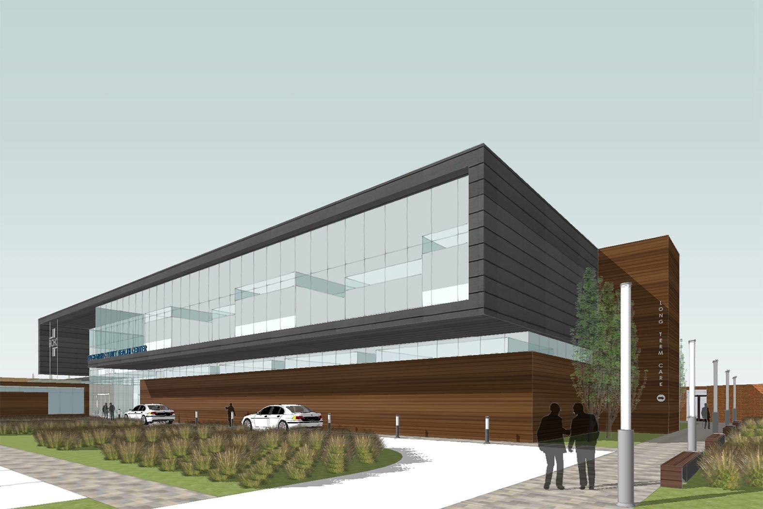 Health care center architecture healthcare design