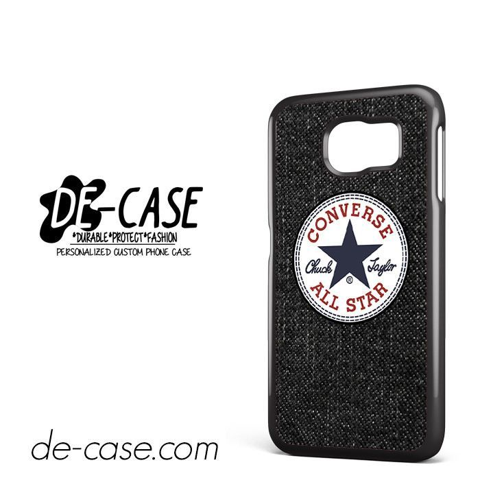 Black Jeans Texture Converse DEAL-1866 Samsung Phonecase Cover For Samsung Galaxy S6 / S6 Edge / S6 Edge Plus